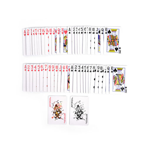 1 Deck Magic Trick Spielkarten - Svengali Stripper Marked Taper Poker sam HM