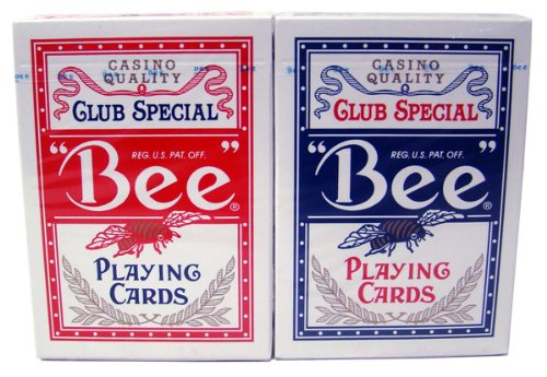Bee No. 92 Diamond Back Club Special Red/Blue Decks