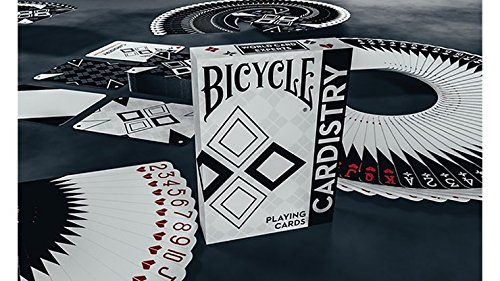 SOLOMAGIA Bicycle Cardistry Black and White Playing Cards by De'vo vom Schattenreich and Handlordz - Kartenspiel - Zaubertricks und Props