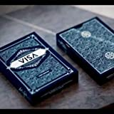 SOLOMAGIA Visa Playing Cards - Blue - Kartenzauber - Zaubertricks und Magie