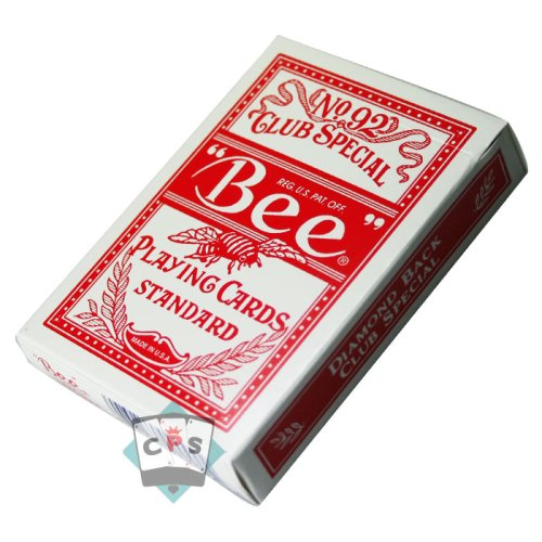 US Playing Card Company - Pokerkarten - BEE Rot